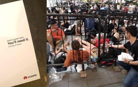Huawei Trolls the Singapore iPhone Launch