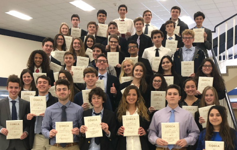 DECA Students Dominate Regional Competition