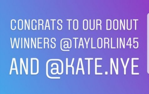 Congrats to our Donut Winners!