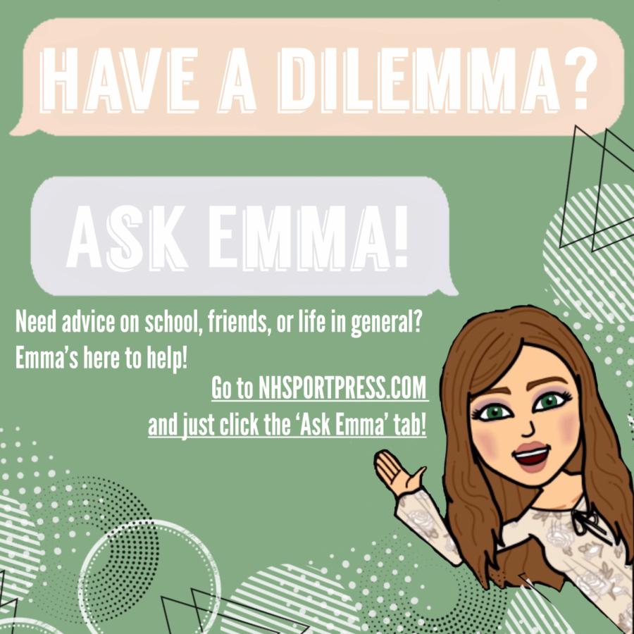 Have a dilemma? ASK EMMA