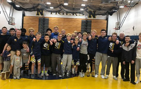 Northport Varsity Wrestling Wins League Title