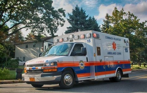 One of the rigs from the Commack Volunteer Ambulance Corp during their 50th Anniversary celebration.