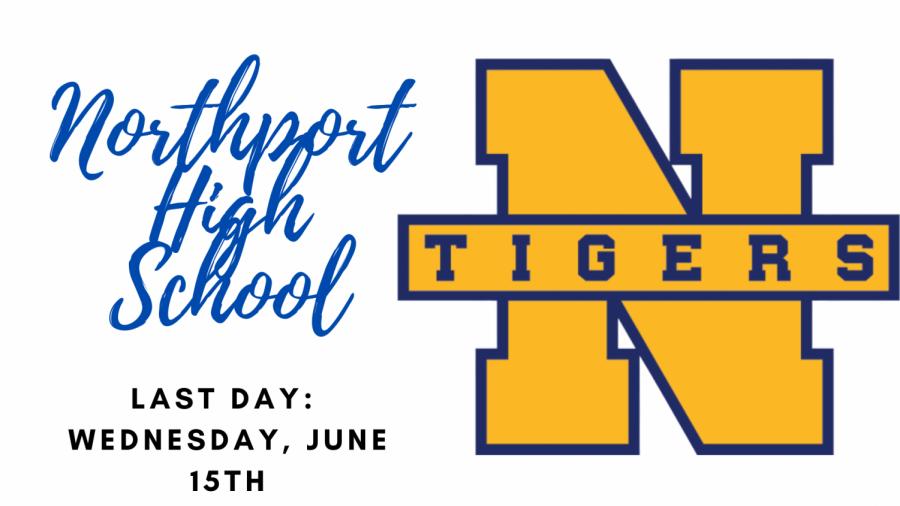 Last Day of School: NHS, June 15th
