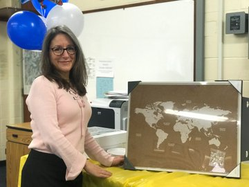 Madame Anna Kessler, who began her position as Northport High School's IB Coordinator on October 8, has been an IB French teacher at Northport since 2013.