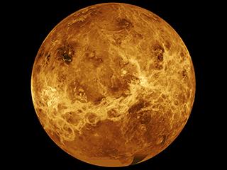 Venus is the second planet in our solar system, and the closest in size to Earth.