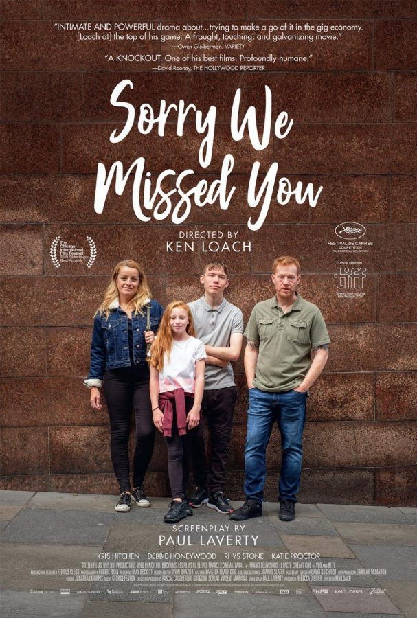 "Director Ken Loach's latest film, ""Sorry We Missed You"", is powerful in the moment, though his haphazard direction doesn't seem to care about the characters enough to make them last after the credit's roll."