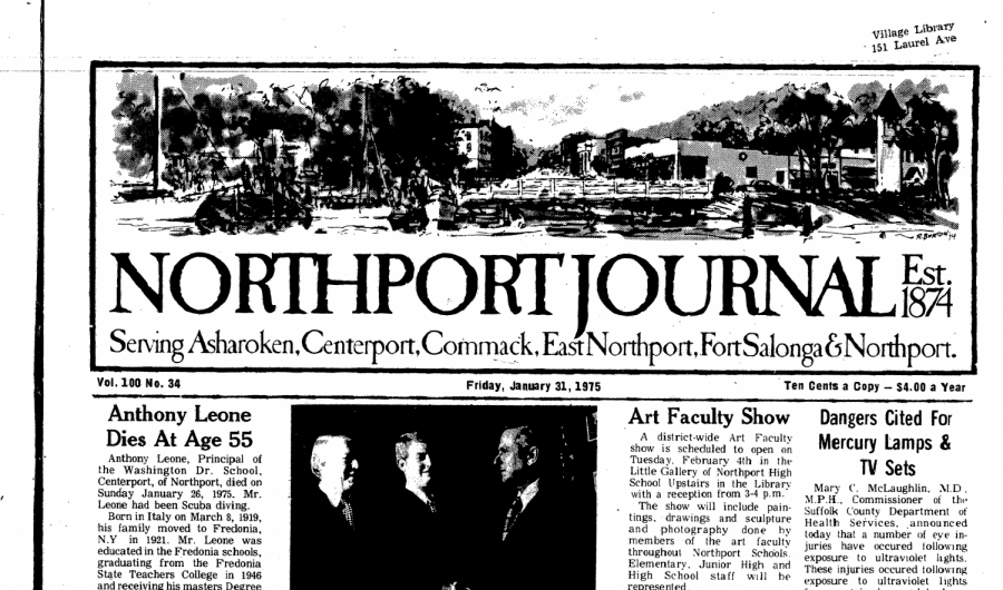 The Northport Journal, first established in 1872, is being rebooted through an online platform to distribute news to the community.