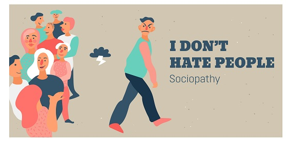 While it is true that diagnosed sociopaths are known for their lack of empathy and their inability to understand human emotions, the majority don't fit the bad reputation that precedes them.